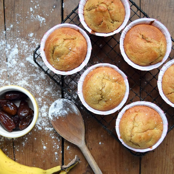 Try our banana and date muffins recipe for a reduced-guilt snack