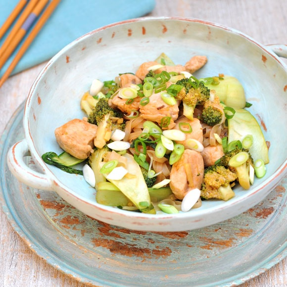 This turkey stir-fry recipe packs a real punch